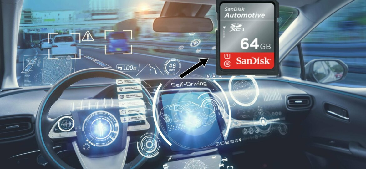 Sandisk industrial sd card for adas
