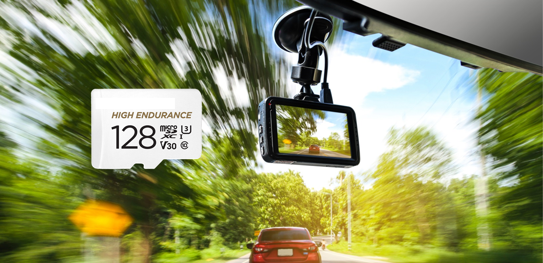 sd card for dash camera