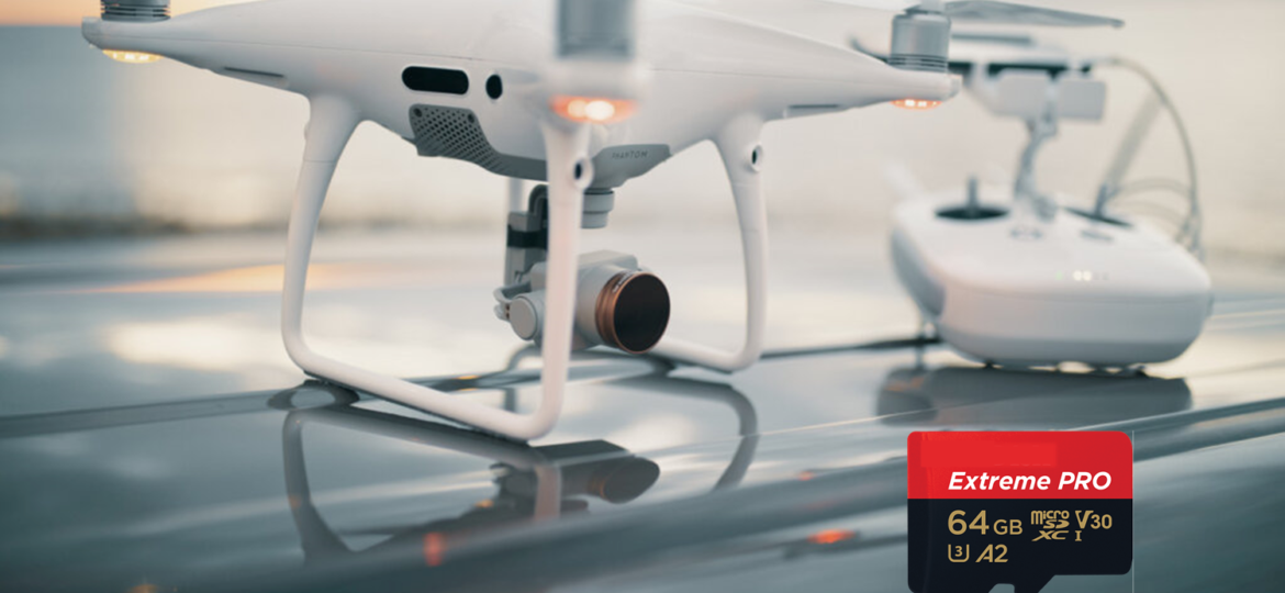 industrial micro sd card for drones