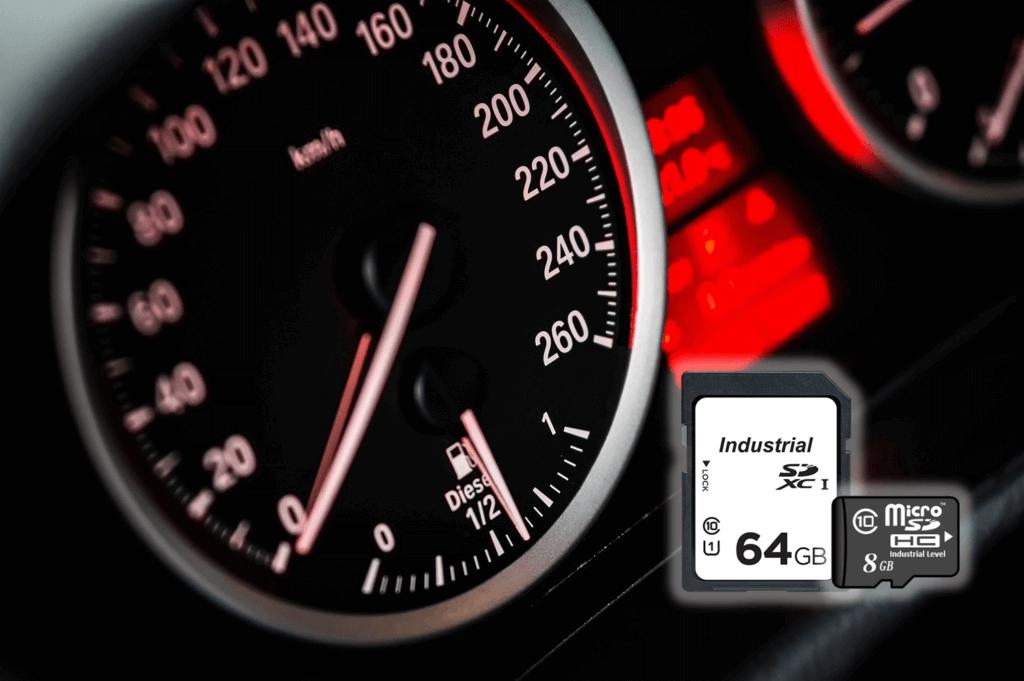 indutrial grade sd card speed